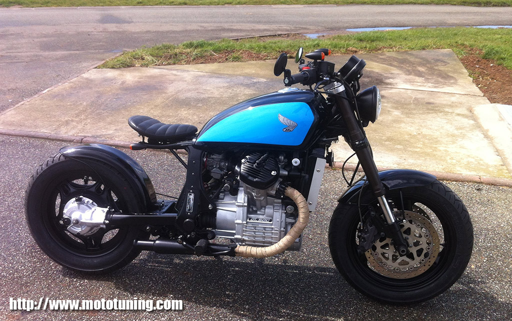 Motorcycle Evolution Honda500 GL Bobber